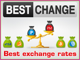 Electronic money exchanger listing